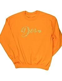 HippoWarehouse Número Dos Dorado jersey sudadera suéter derportiva unisex