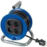 Ribitech - preeb40315 - Enrouleur électrique 4 prises 40 mètres