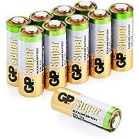 Batterien 23A (A23 / MN21 / V23GA / MS21) 12V Batterie, Alkaline High-Voltage, Spannung 12 Volt, 10 Stück (Batterien einzeln entnehmbar) im Multipack (GP Batteries