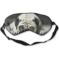 Comfortable Sleep Eyes Masks Cute Pug Pattern Sleeping Mask For Travelling, Night Noon Nap, Mediation Or Yoga preisvergleich bei billige-tabletten.eu