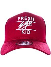 Fresh Ego Kid Trucker Cap in Red   White d1af30c86c65
