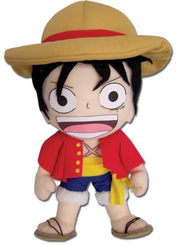 One Piece New World Peluche Figurine Ruffy (23cm) - original & official licensed