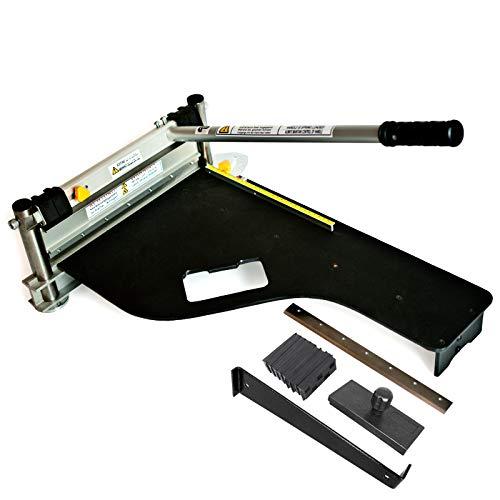 Schnittbreite 325mm | Der Bautec PROFI BT325 Laminatschneider/Parkettschneider inkl. 2 Klingen