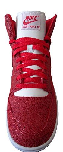 Nike Court Force de Sp university red white 661