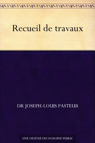 Couverture du livre Recueil de travaux
