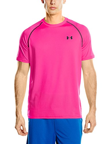 under-armour-mens-ua-tech-short-sleeve-t-shirt-tropic-pink-medium