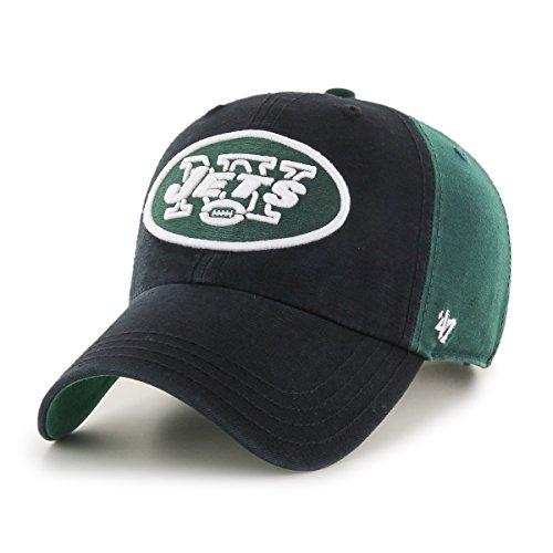 47 NFL Black Flagstaff '47 Clean Up Verstellbarer Hut, Einheitsgröße, dunkelgrün