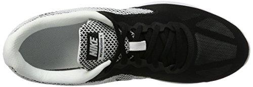 Nike Herren Revolution 3 Hallenschuhe Mehrfarbig (White/Black)