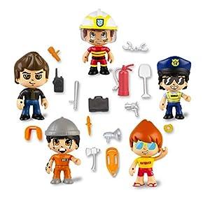 Pinypon Action- Set de 5 Figuras Series 2 con Accesorios para niños y niñas de 4 a 8 años, (Famosa 700015265)