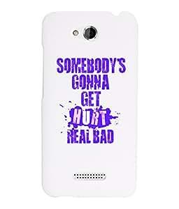 KolorEdge Back Cover For HTC Desire 616 - White (2878-Ke15127HTC616White3D)
