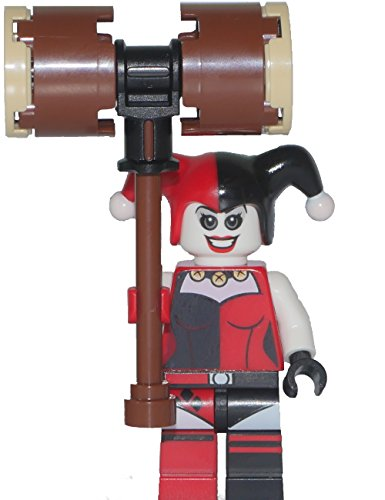 LEGO Super Heroes: Minfigur Harley Quinn with hammer (out of set 76035) NEW
