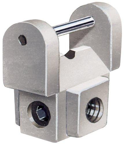 Preisvergleich Produktbild 2 Stücke Laubsäge Klemmerheftung SET für 89334 - für den Gebrauch mit Dekupiersägen. Zwei Klemmen für das Halten von Ende Klingen plain Schweifsäge. Verpackung mit Sichtfenster.