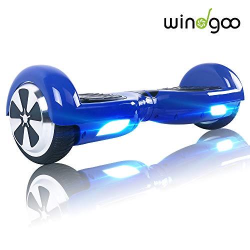"Windgoo Hoverboard - 6.5\"" Self-Balance Elektro Scooter UL2272 Sicherheitszertifiziert, Basic Wahl für den Anfang (Navy blau)"