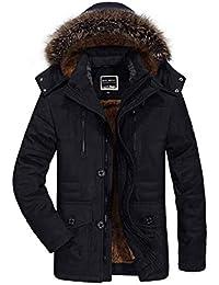 f46560035c49 Herren Bequemer Winter Warm Dicke Jungen Mit Kapuze Jacken Männer Fashion Ntel  Parka Outdoor Wärmen Rmejacke