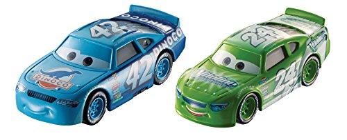 Hot Wheels FLH64 Disney Cars Character Brick Yardley & Cal Wheaters