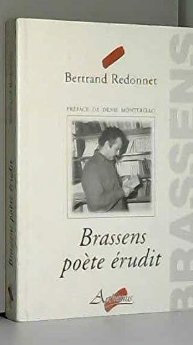 Brassens poète érudit par Bertrand Redonnet