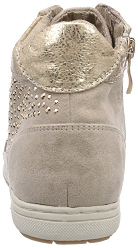 Marco Tozzi 45200, Baskets hautes fille Multicolore - Mehrfarbig (Dune Comb / 435)