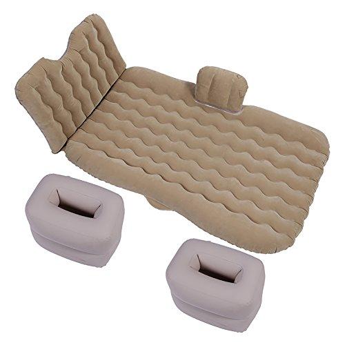 Matelas pneumatique de Seat arrière de voiture pour des modèles hors route de SUV pour des sports intimes de voyage extérieurs, pompe à air et oreillers intégrés, disponibles dans quatre couleurs.