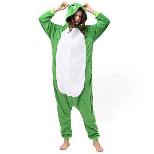 Katara 1744 (30+ Designs) Frosch-Kostüm Kröte, Unisex Onesie/ Pyjama-Qualität für Erwachsene & - Für Erwachsene Kröte Kostüm