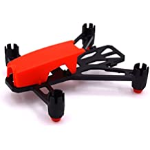 LHI 100mm lightweight Micro Brush Quadcopter Frame No need to assemble for Mini Micro Nano fpv racing support for 820 8.520mm motor (Red)