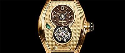 Memorigin Bourbon Series Tourbillon Watches Gold Color
