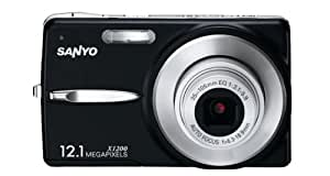 Sanyo VPC-X1200 Appareils Photo Numériques 12.1 Mpix Zoom Optique 3 x