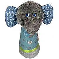amazemarket bebé sonajero móvil elefante Barra sonido de las aves juguete Sonner la campana cama de bebé cochecito muñeca nuevo née BLOUSON suave regalo