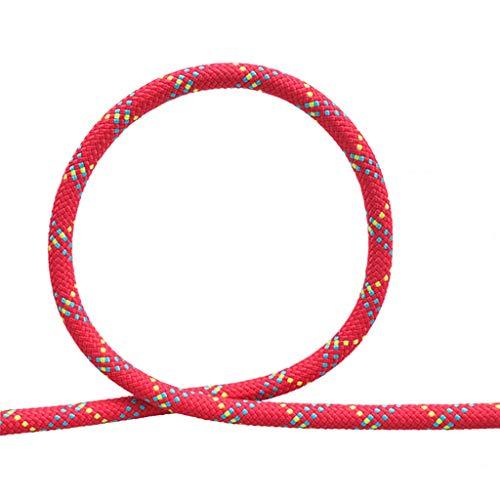 MLMHLMR Outdoor-Rettungsgerät 10,5MM Statisches Seil für Kletterseil im Freien Kletterseil (Size : 100M)