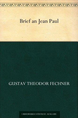 Brief an Jean Paul