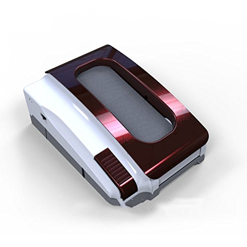 LJHA Schuhpolierer Sohlenreinigungsmaschine Schuhpolierer Dekontaminationsmaschine 2 Farben erhältlich 47.2 * 28.5cm Einweg-Schuhüberzieher ( Farbe : Lila )
