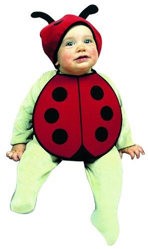 nkindset Käfer, Latz und Kopfbedeckung, Einheitsgröße (Marienkäfer Halloween-kostüm Für Baby)