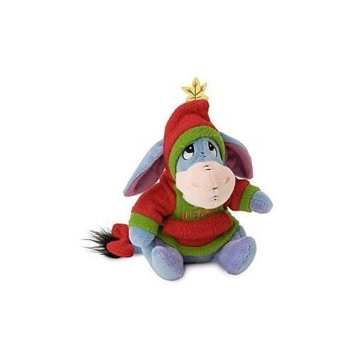 Disney Hoodie Eeyore Plush Mini Bean Bag Toy by Disney (Eeyore Hoodie)