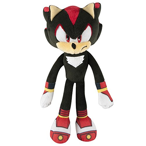 "Sonic The Hedgehog Pupazzo morbido di Shadow the Hedgehog, della serie ""Sonic Boom"", dimensioni: 20,32 cm"