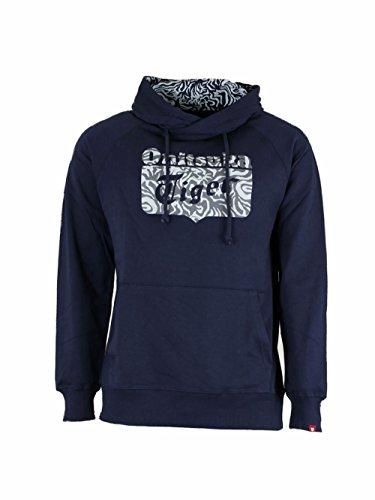 Onitsuka Tiger Hoodie 123496/0050 Blu - felpa uomo (Medium)