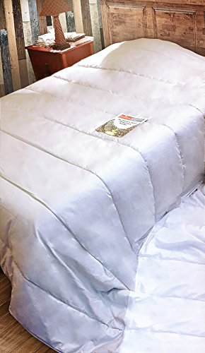 SWEET DREAMS HOME - Di Lusso MEGA FULL-Size 2.0 Plazas (280 x 280 Cm) Ipoallergenico 100% fibra di Royal Alpaca Duvet Piumone Copripiumino coperto di 100% Pima Peruviano raso di cotone 600-fili, Termo-intelligente, Morbidezza eccellente, Luminosità; Organico,