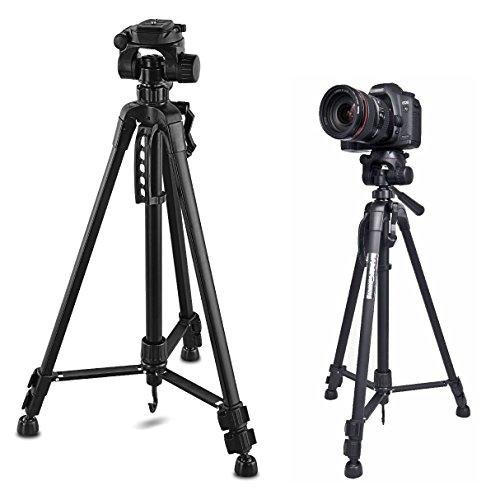 140CM Stativ Kamera Ständer für DSLR-Digitalkameras Camcorder Nikon, Canon, Sony, Panasonic