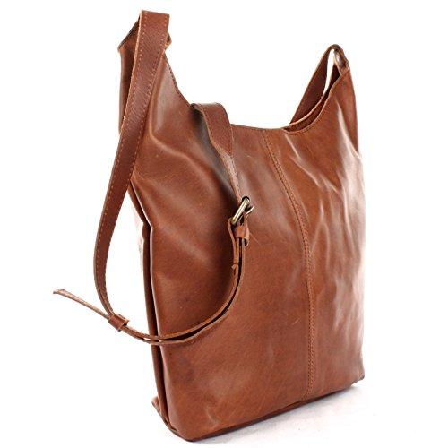 97a143b307498 LECONI große Umhängetasche Damen Schultertasche praktische Ledertasche für  Frauen Beuteltasche Vintage-Style Damentasche Shopper aus ...