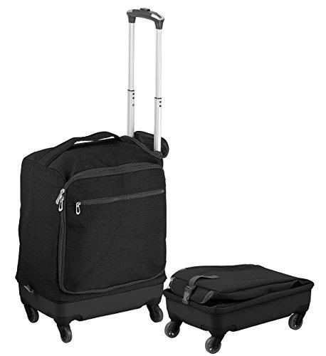 Xcase Handgepäck: Ultraleichter Reise-Trolley mit 46 Litern Volumen, bis 30 kg, 4 Rollen (Kabinenkoffer) -