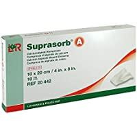 SUPRASORB A Calciumalginat Kompr.10x20 cm 10 St Kompressen preisvergleich bei billige-tabletten.eu