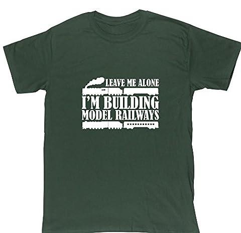 HippoWarehouse - T-shirt - Homme - vert - Large