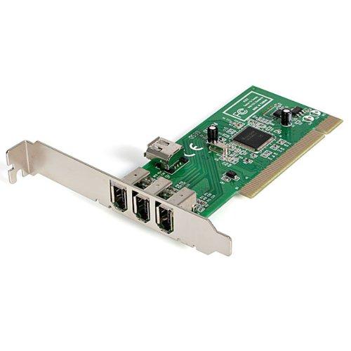 StarTech.com FireWire 1394a PCI - Adaptador 4 puertos