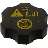 febi bilstein 36579 Kühlerverschlussdeckel/Kühlerdeckel mit Dichtung, schwarz, Kunststoff, 1 Stück