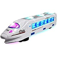 VEJ High Speed Bullet Train Toys - 3D Lighting and Musical Toys for Kids Gift for boy and Girl Bullet Train Toy - 38 cm
