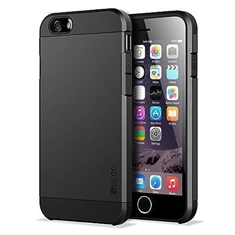 iPhone 6 Coque , Slicoo Etui de protection couvert de transport Double-Couche Coque Case pour iPhone 6 6S (4,7 pouces)