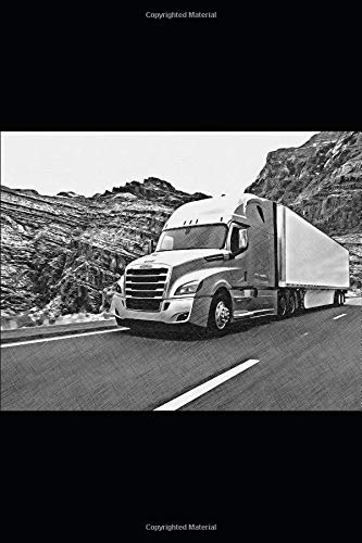 Freightliner Cascadia notebook: 6