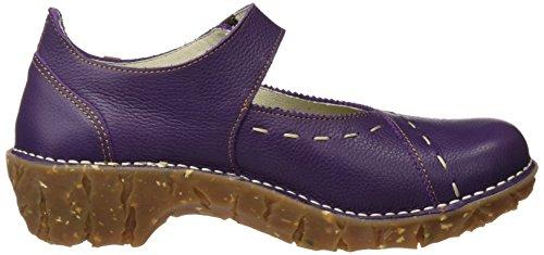 El Naturalista N095 Soft Grain Yggdrasil, i Tacchi Alti con Punta Chiusa Donna Viola (Purple)