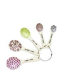 Rae Dunn Measuring Spoons - Set of 5 Stoneware
