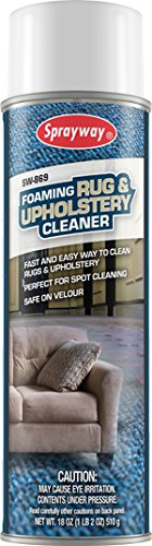 Sprayway SW869 20oz Sprayway[REG] Foaming Rug & Upholstery Cleaner