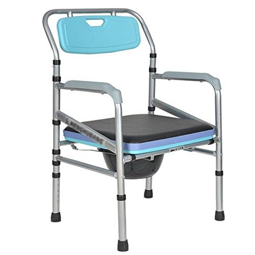 Chaise Commode Chaise De Toilette Pliable Femme Enceinte Toilette Handicapé Pit Pit Tabouret Chaise Maison Mobile Tabouret De Toilette