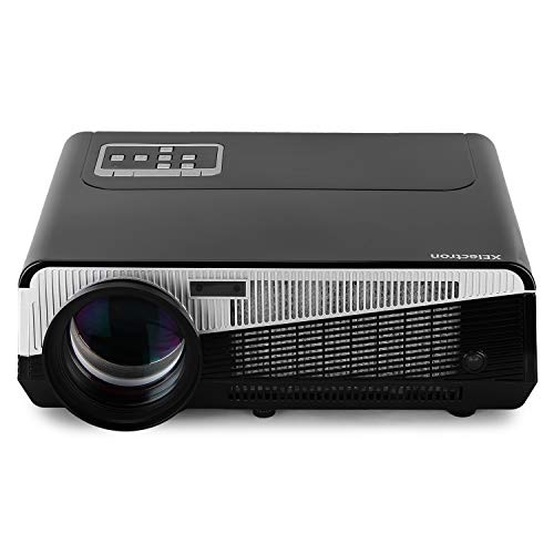 XElectron® SM86+W Android Smart Wi-Fi HD LED Projector with 3800 Lumens 1080P, 4K Support, for Home, Office, Presentation and Educational Institutes